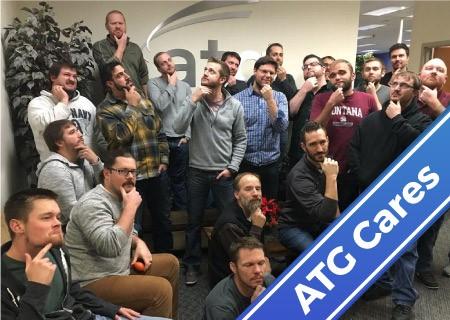 ATG Cares: No-Shave November Garners $4K for Prostate Cancer Society