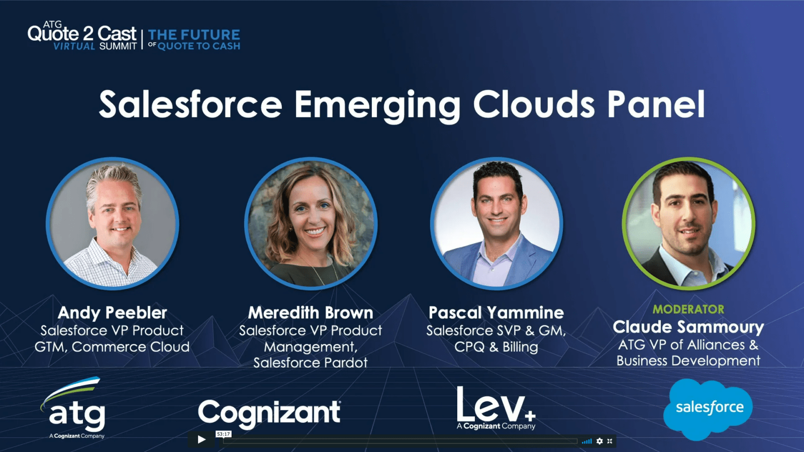 Salesforce Emerging Clouds Panel