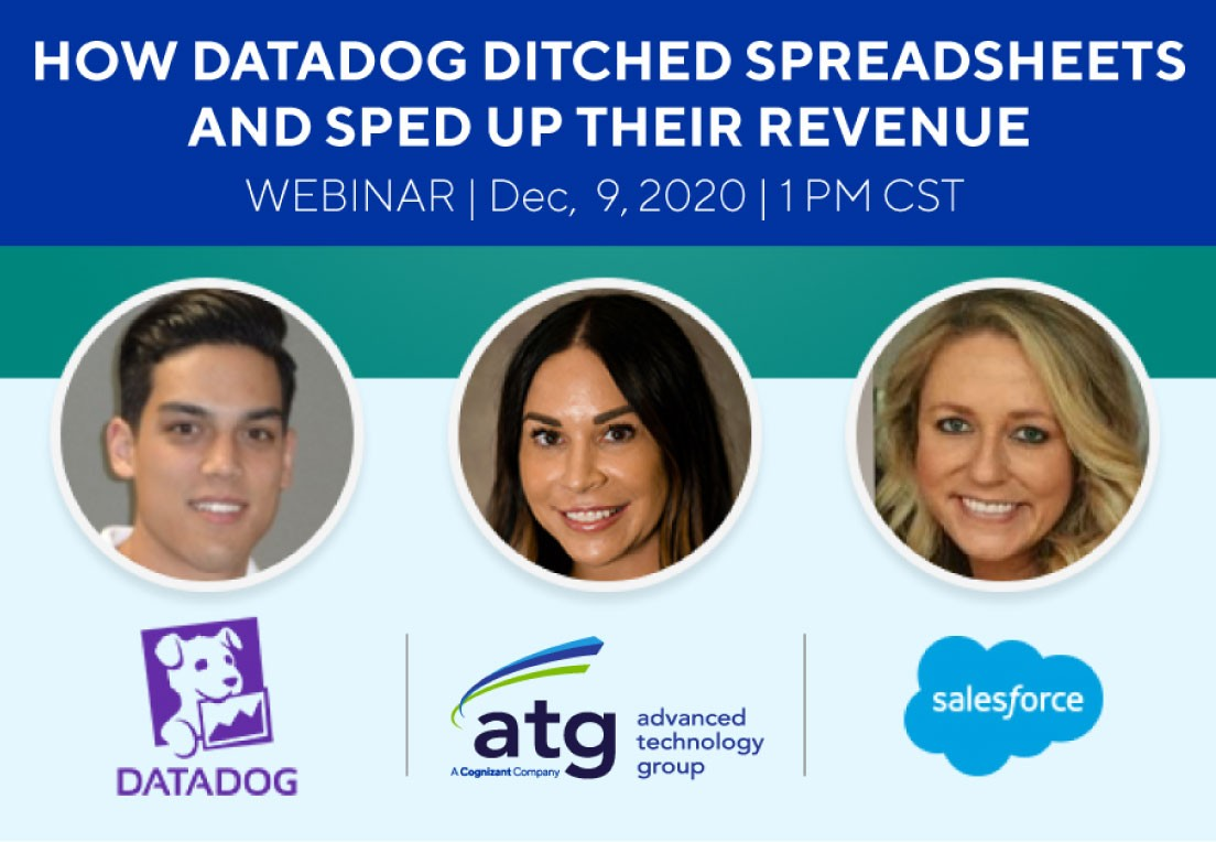 How Datadog Ditched Spreadsheets & Sped Up Their Revenue
