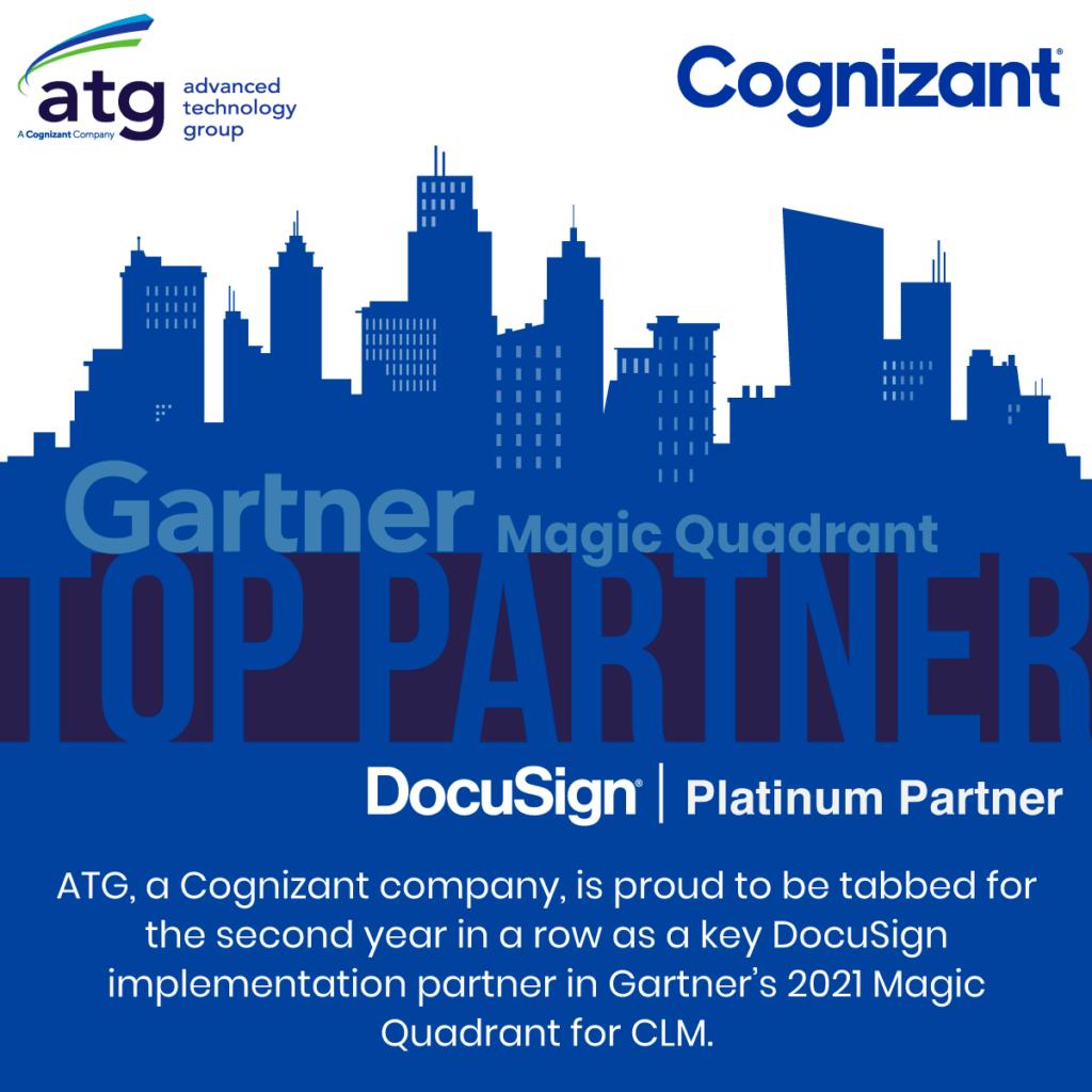 ATG Again Named Key DocuSign Implementation Partner by Gartner